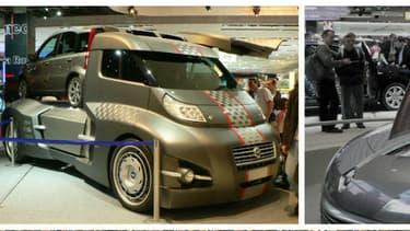 En 2006, sur le Mondial de l'Automobile Porte de Versailles, il y avait déjà de drôles de concept-cars.
