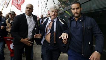 Le directeur des ressources humaines d'Air France, le 5 octobre 2015.