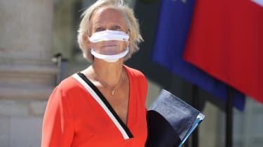 La secrétaire d'Etat chargée des personnes handicapées, Sophie Cluzel, le 29 juillet à l'Élysée