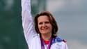 La tireuse française Delphine Racinet-Réau a obtenu samedi aux Jeux de Londres la médaille de bronze de l'épreuve de fosse olympique, douze ans après avoir obtenu l'argent à Sydney. /Photo prise le 4 août 2012/REUTERS/Sergio Moraes