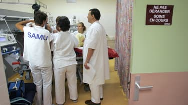 Photo d'illustration du personnel hospitalier.