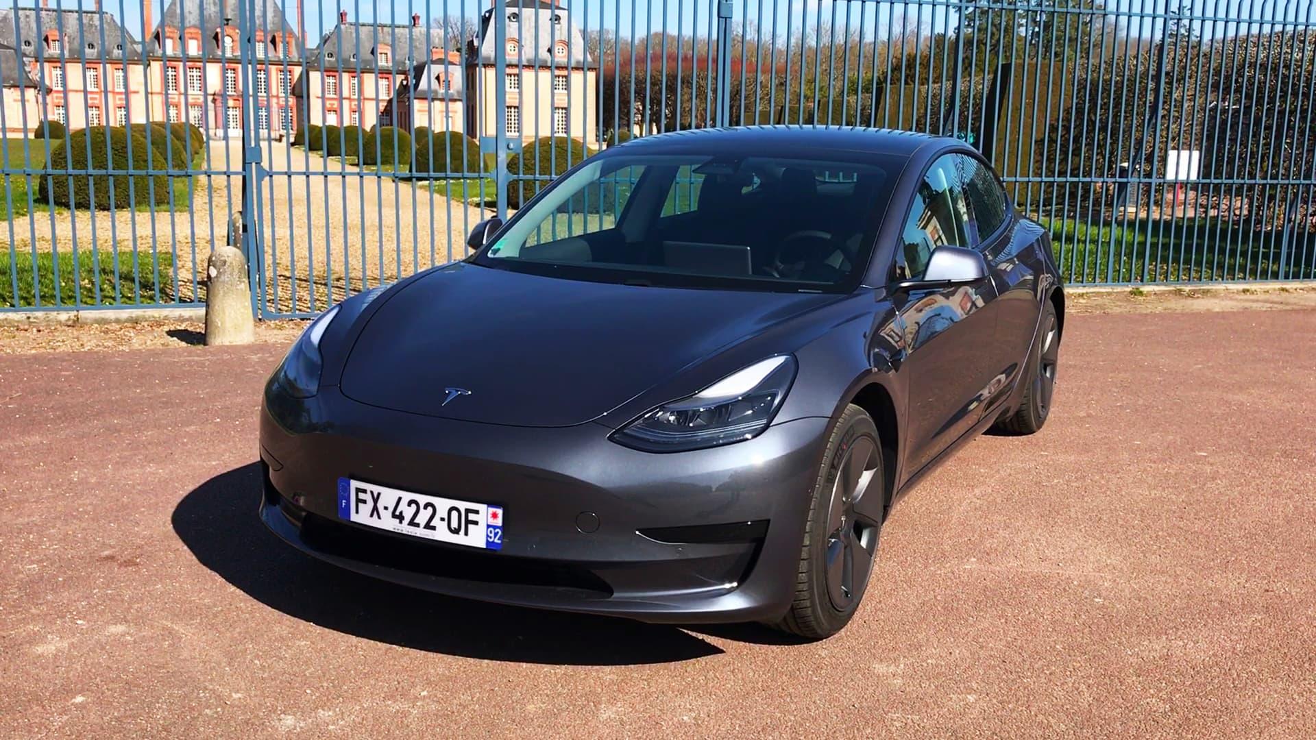 Essai - 36.800 euros neuve, on a testé la Tesla la plus abordable