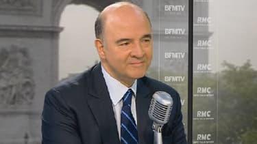 Pierre Moscovici, le ministre de l'Economie et des Finances, était l'invité de BFMTV-RMC, mardi 2 juillet.