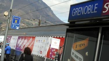 Gare de Grenoble, en Isère