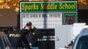 C'est au collège de Sparks, dans le Nevada, qu'un garçon de 12 ans a tué son professeur avant de retourner l'arme contre lui.