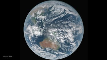 Image satellite de la Terre