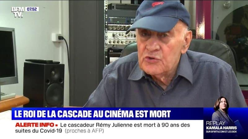 Le cascadeur Rémy Julienne est mort à 90 ans, des suites du Covid-19