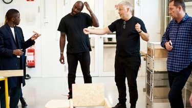 Virgil Abloh et Henrik Most, le chef créatif d'Ikea.