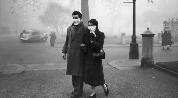 La vague de pollution du grand smog de Londres de 1952 a causé la mort de 12.000 personnes. Aujourd'hui, l'air de Londres est comparable à celui du Moyen Age.