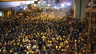 Près de 450 000 personnes se sont rassemblées à Hong Kong