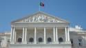 Le bâtiment du Parlement portugais à Lisbonne.
