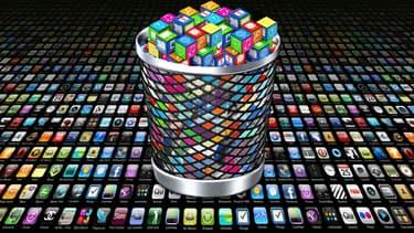 Trop d'applis tue l'appli? Alors que les deux grands AppStores rassemblent chacun plus de 1,5 million d'applications, réussir à s'imposer relève désormais de la loterie.
