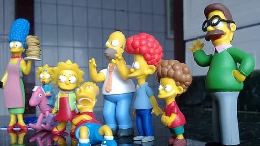 L'éditeur des BD des Simpson sort du portfolio de la maison Gallimard.