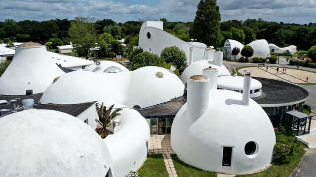 Beg Meil, un village vacances à l'architecture bulles aux airs des Barbapapas
