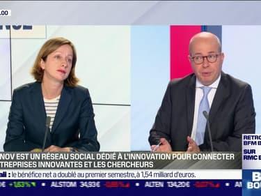 Céline Clausener (Linkinnov): Linkinnov, réseau social dédié à l'innovation pour connecter les entreprises innovantes et les chercheurs - 03/08
