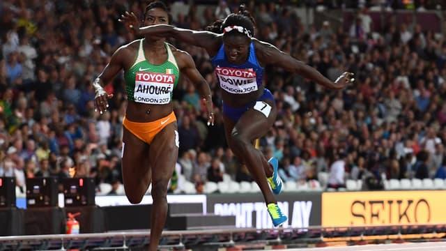 Teri Bowie championne du monde du 100m