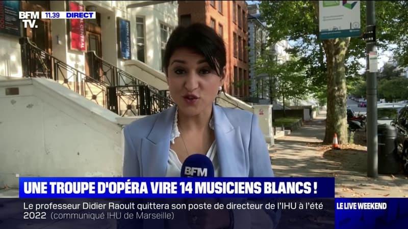 Londres: une troupe d'opéra se sépare de 14 musiciens blancs