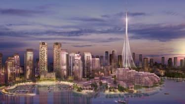 La tour doit être inaugurée avant 2020