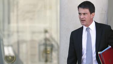 """Manuel Valls organisait son premier Conseil des ministres """"bis"""" ce jeudi à Matignon."""