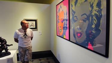 Andy Warhol est toujours aussi prisé.
