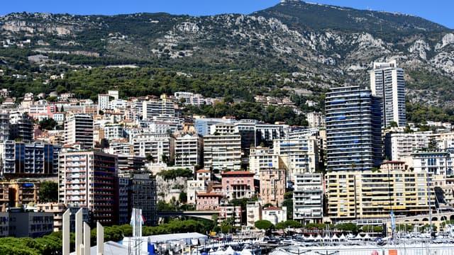 Des façades à Monaco.