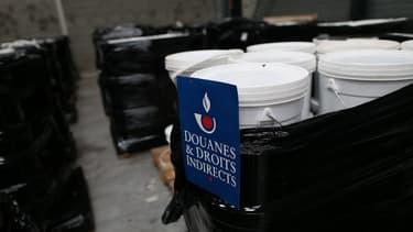 Les douanes française avaient déjà saisi près de quinze tonnes de tabac à narguilé contrefait en 2015 au Havre