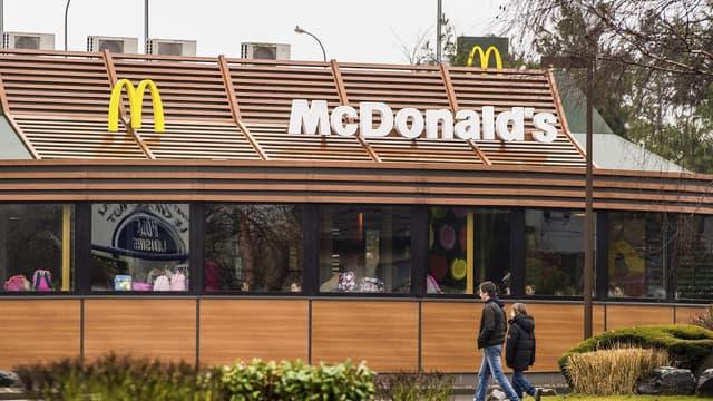 Le McDonald's doit être transformé en restaurant halal asiatique. (Image d'illustration)