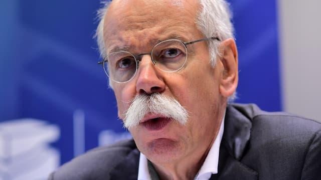 Dieter Zetsche, président de l'association européenne des constructeurs automobiles.