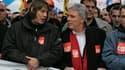 Bernard Thibault défilera aujourd'hui pour la dernière fois au premier rang des militants de la CGT (photo : DR)