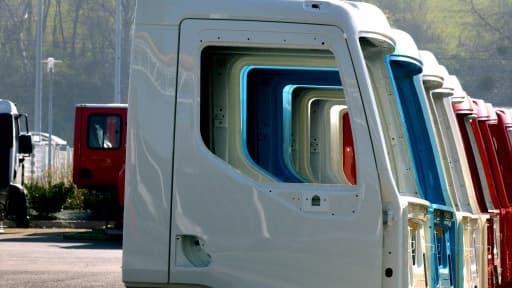 La ligne d'assemblage de certains camions Volvo va être transférée en France.