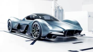 Aston Martin et Red Bull ont limité le nombre d'exemplaires de leur première supercar à 150.