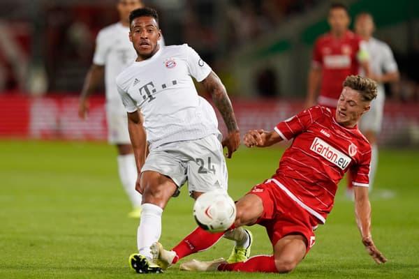 Corentin Tolisso (en blanc), le milieu français du Bayern Munich, en août 2019
