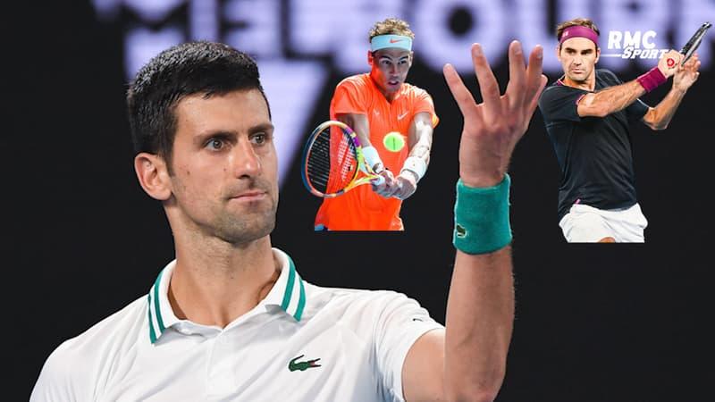 Open d'Australie : Djokovic torpille Medvedev et se rapproche de Nadal et Federer