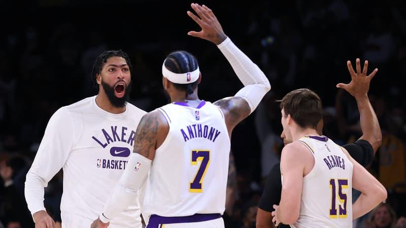 NBA: première victoire pour les Lakers, Golden State et Charlotte toujours invaincus