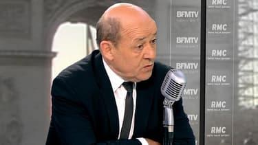 Le ministre de la Défense, Jean-Yves Le Drian