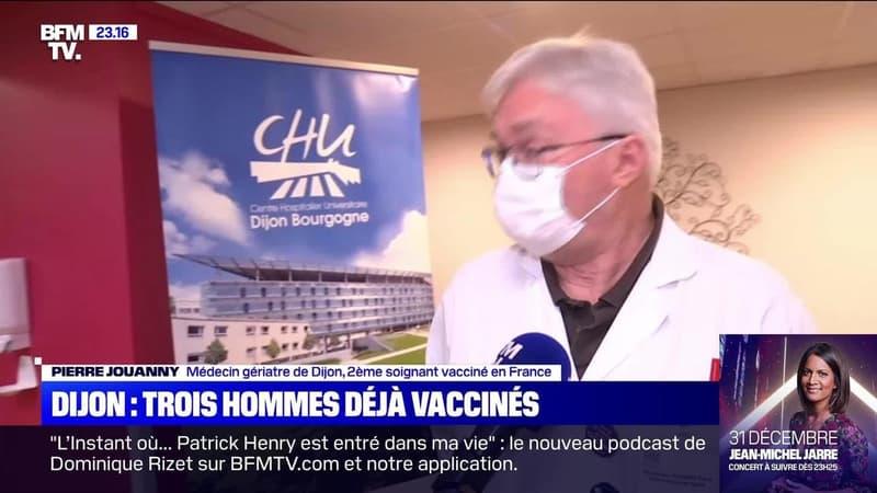 Dijon: trois hommes déjà vaccinés contre le Covid-19 - 27/12
