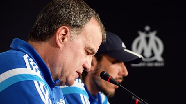 Marcelo Bielsa et Fabrice Olszewski