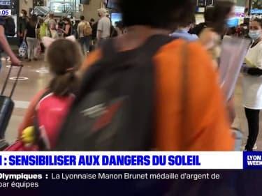 Lyon: des cahiers de vacances ludiques pour sensibiliser aux dangers du soleil