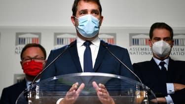 Le président du groupe parlementaire LREM, Christophe Castaner, le 30 novembre 2020 à Paris