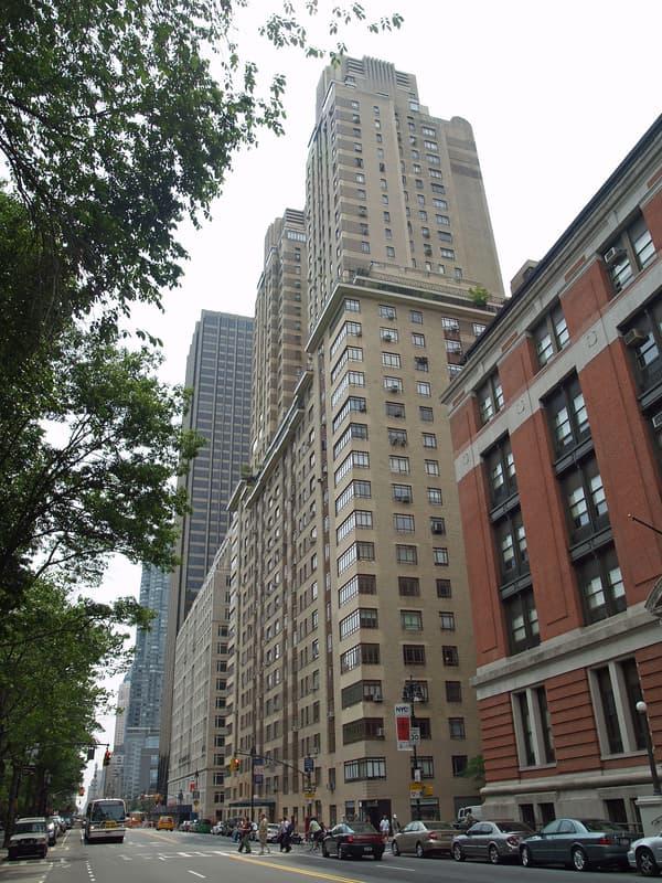 La tour The Century à Manhattan (New York), où Jeff Bezos possède plusieurs appartements.