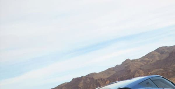 Un visuel de la future GNX, une Corvette C7 électrifiée.