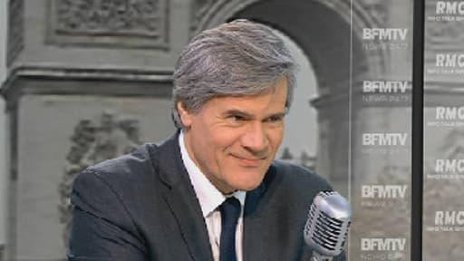 Stéphane Le Foll, le ministre de l'Agriculture, s'est félicité de la baisse du nombre de chômeurs en octobre