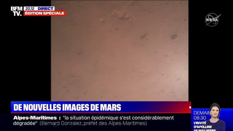 La Nasa dévoile la vidéo de l'atterrissage de Perseverance sur Mars