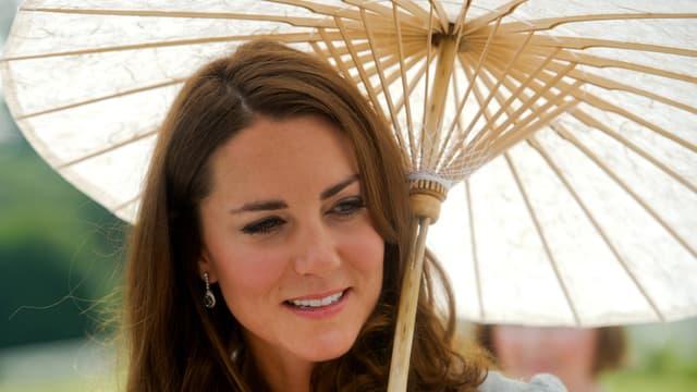 Kate Middleton, à Singapour, le 13 septembre 2012