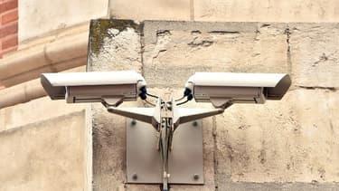 Image d'illustration de caméras de surveillance