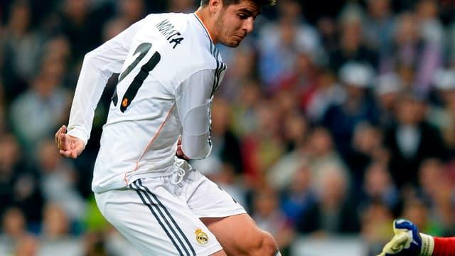 Alvaro Morata a signé à la Juve