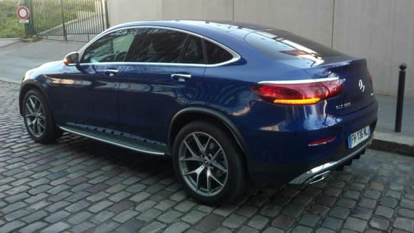 Le Mercedes GLC Coupé se vend plus que son concurrent direct, le BMW X4.