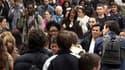 Plus de huit Français sur dix (82%) sont inquiets face à la crise européenne et jugent à 44% que l'euro en amplifie les effets, selon un sondage Harris Interactive pour Le Nouvel Observateur publié mercredi. /Photo d'archives/REUTERS
