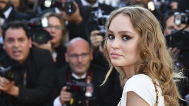 Lily-Rose Depp à l'ouverture du dernier Festival de Cannes.
