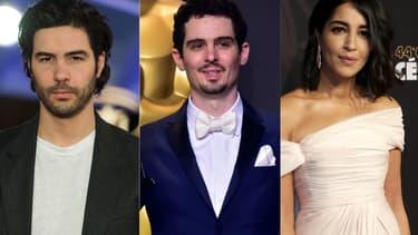 Tahar Rahim, Damien CHazelle et Leïla Bekhti